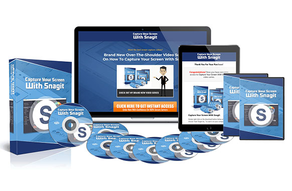 Capture Your Screen With Snagit – Advanced Version
