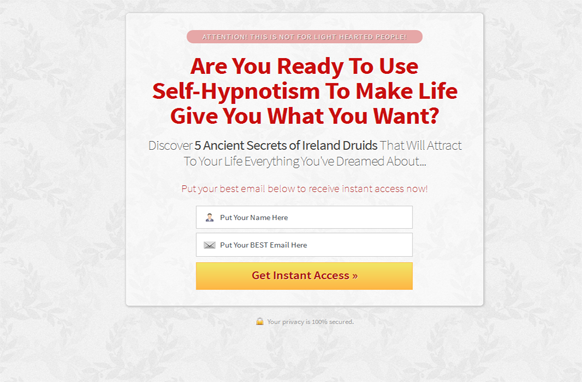 Red Style Responsive HTML Mobile Squeeze Page Edition 8