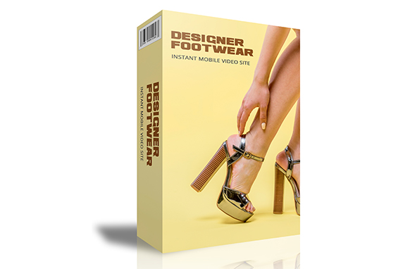 Designer Footwear Instant Mobile Video Site
