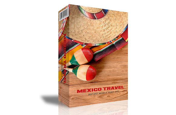 Mexico Travel Instant Mobile Video Site