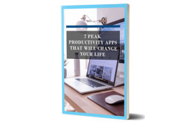 Peak Productivity Apps That Will Change Your Life