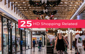 25 HD Shopping Related Stock Photos