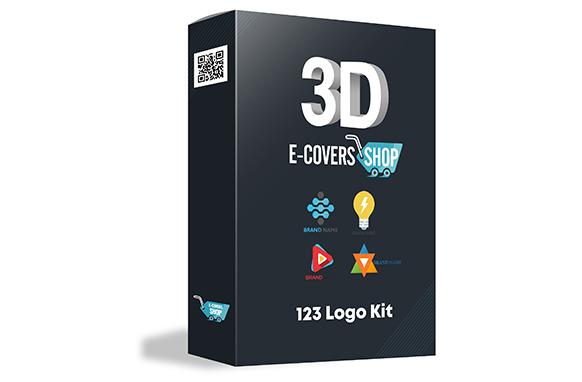 123 Logo Kit – 38 PSD Logos