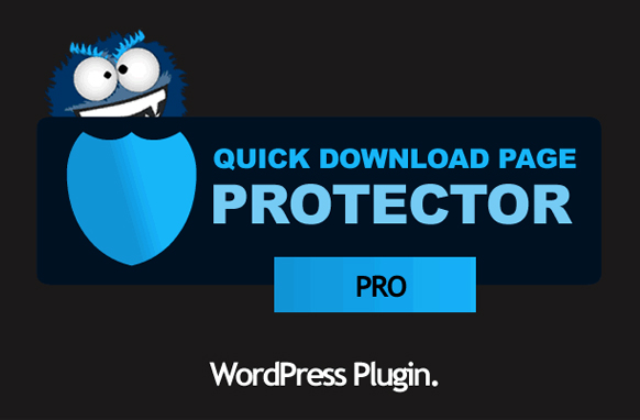 Quick Download Page Protector Pro WordPress Plugin