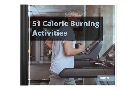 51 Calorie Burning Activities Audio Book Plus Ebook