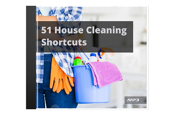 51 House Cleaning Shortcuts Audio Book Plus Ebook