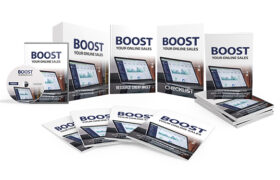 Boost Your Online Sales Upgrade Package