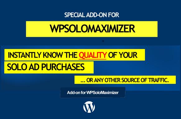 WP Solo Maximizer Add-On Plugin