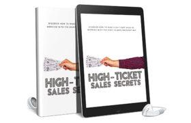 High Ticket Sales Secrets AudioBook and Ebook