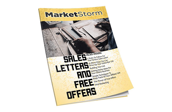 Sales Letters And Free Offers