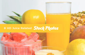 8 HD Juice Related Stock Images