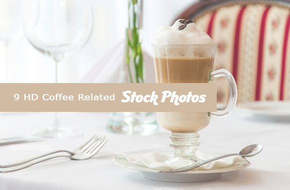 9 HD Coffee Related Stock Images