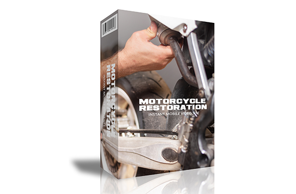 Motorcycle Restoration Instant Mobile Video Site
