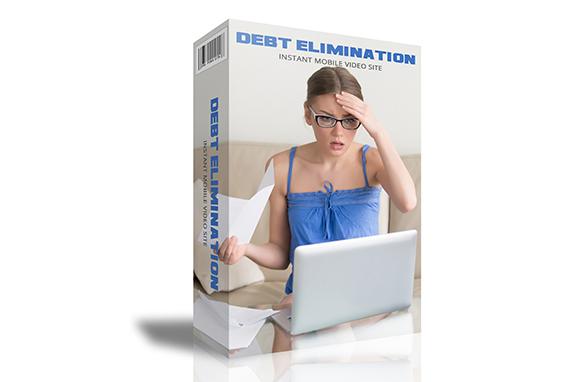 Debt Elimination Instant Mobile Video Site