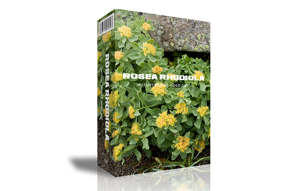 Rosea Rhodiola Instant Mobile Video Site