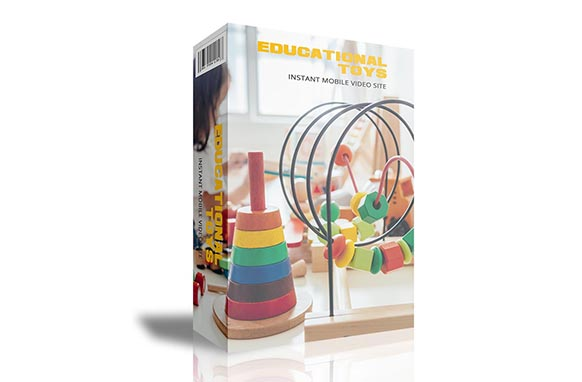 Educational Toys Instant Mobile Video Site