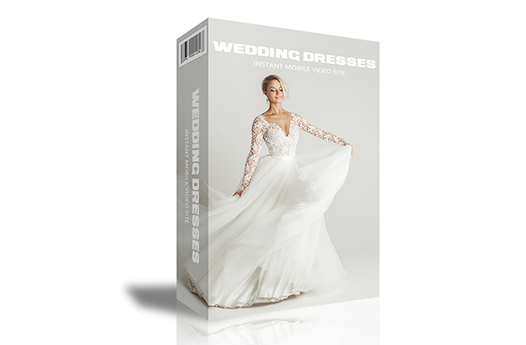 Wedding Dresses Instant Mobile Video Site