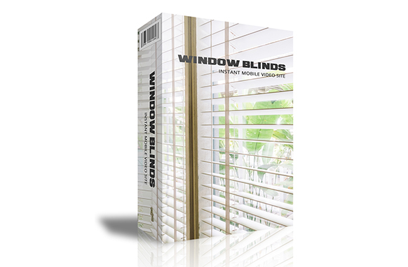 Window Blinds Instant Mobile Video Site