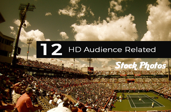 12 HD Audience Related Stock Images