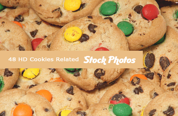 17 HD Cookies Related Stock Images