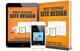 Direct Response Site Design AudioBook and Ebook