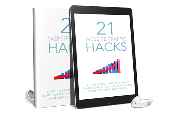 21 Website Traffic Hacks AudioBook and Ebook