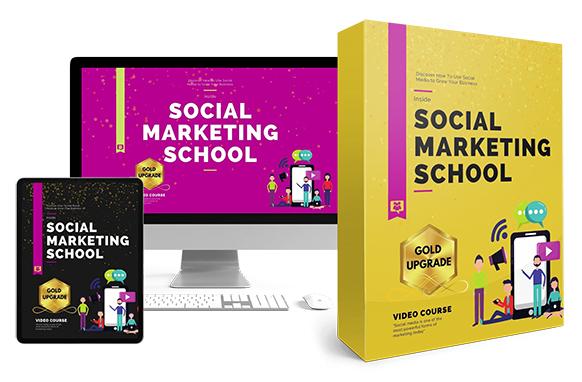 Social Marketing School Upgrade Package