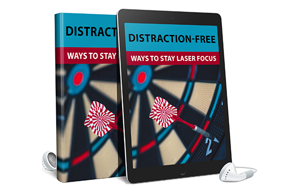 Distraction Free Ways To Stay Laser Focus AudioBook and Ebook