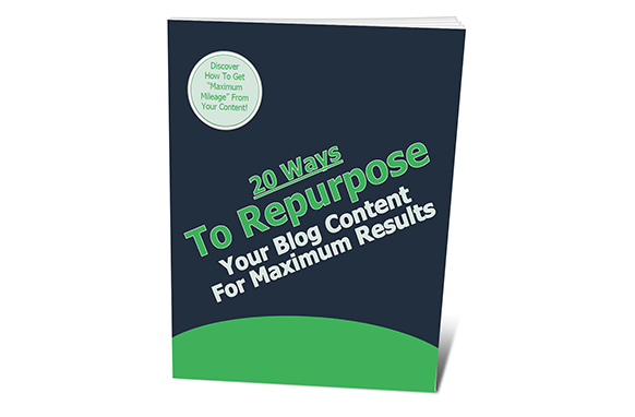20 Ways To Repurpose Your Blog Post Content