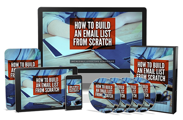How To Build An Email List From Scratch Upgrade Package