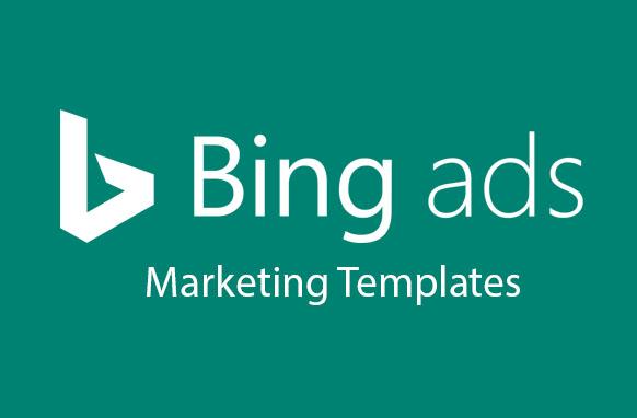 Bing Ads Marketing Templates