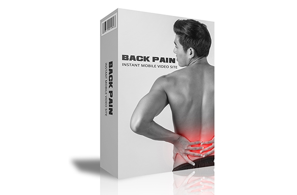 Back Pain Instant Mobile Video Site