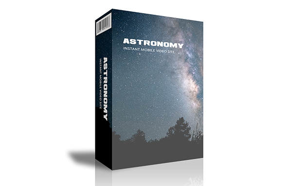 Astronomy Instant Mobile Video Site