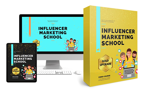Influencer Marketing School Upgrade Package