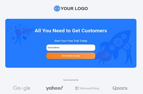 Beautiful HTML Landing Page Volume 1